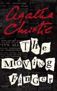 the moving finger #crime #christie #marple