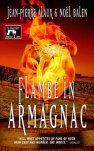 flambe in armagnac