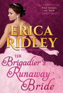 Brigaders runaway bride by Erica Ridley