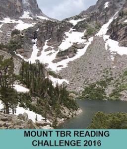 MY READER'S BLOCK_ 2016 Mount TBR Reading Challenge
