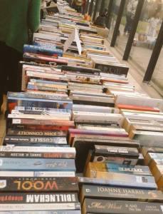 Book Buffet Table