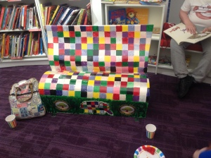 foyles book bench #2
