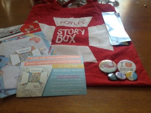 foyles storybox goodiebag