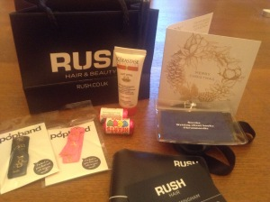 Rush Hair Goody Bag